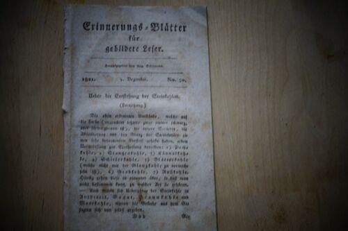 1821 Erinnerungsblätter 50 / Steinkohle Bergbau / Krieg Griechenland Türkei