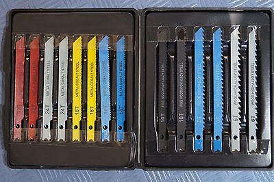28 tlg. Stichsägeblatt Set U-Schaft Metall Holz Stichsägeblätter Sägeblätter