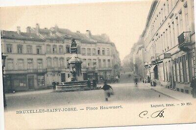 CPA - Belgique - Brussels - Bruxelles - St-Josse-ten-Noode - Place Hauwaert