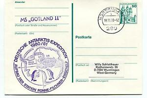 MS Gotland II Ronne Filchner Station Nordenham Polar Antarctic Cover - Italia - La restituzione è accettata. La merce dovrà essere restituita entro 14 giorni dalla ricezione nelle medesime condizioni di partenza. Secondo le normative vigenti, le spese di trasporto sono a carico dell'acquirente. - Italia