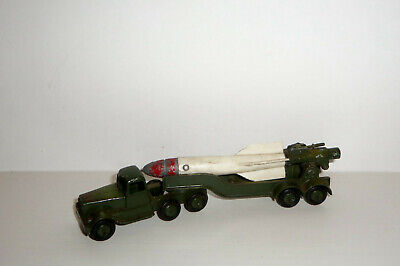 CRESCENT TOYS NO. 1267 CORPORAL ROCKET LAUNCHER & LORRY - ORIGINAL RED CAP. for sale  Shipping to Ireland