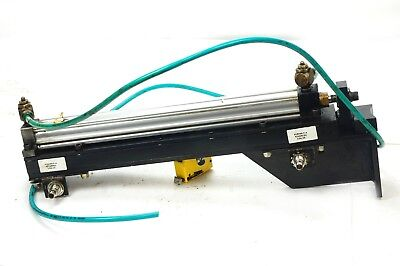 Pneumatic Press Cylinder Assy W Parker 4ma 18x1.5 Dual Stage Actuator Sensors