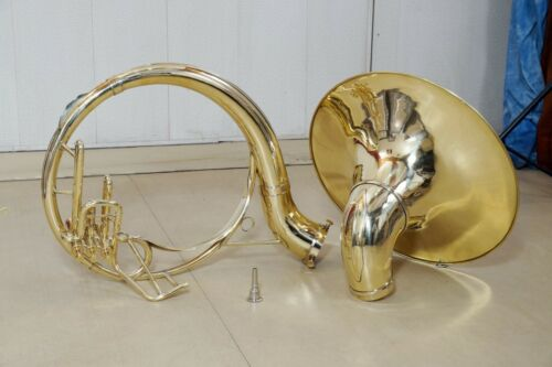 Sousaphone 22 inch brass BB pitch with carry bag And Mouthpiece