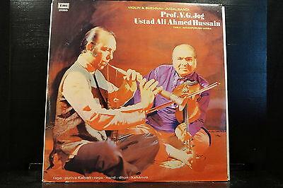 Prof. V. G. Jog / Ustad Ali Ahmed Hussain – Violin & Shehnai - Jugalbandi