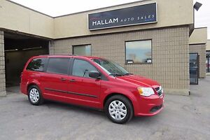 2013 Dodge Grand Caravan SE/SXT Dual Air & Windows Bench Seats