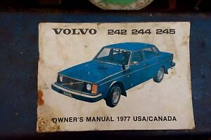 1977 Volvo owners manual