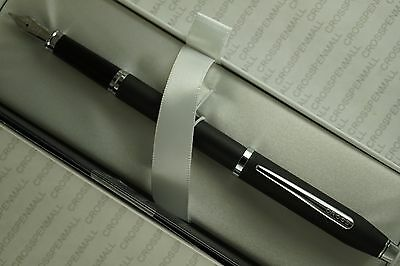 Cross Century II Ltd Series Cool Matte Black Barrel & Polished Trim Fountain Pen