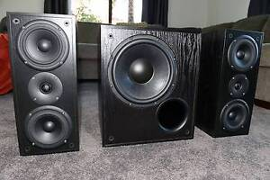 Krix KDX V3 Main Speakers and Seismix 3 MK3 Subwoofer Kuraby Brisbane South West Preview