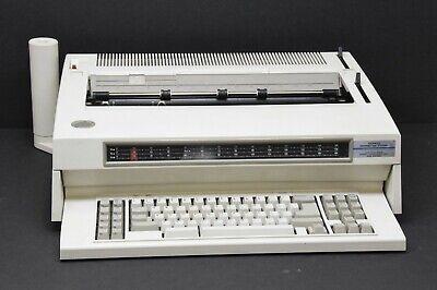 Ibm 6789 Wheelwriter 70 Series Ii Electric Typewriter Word Processor Working
