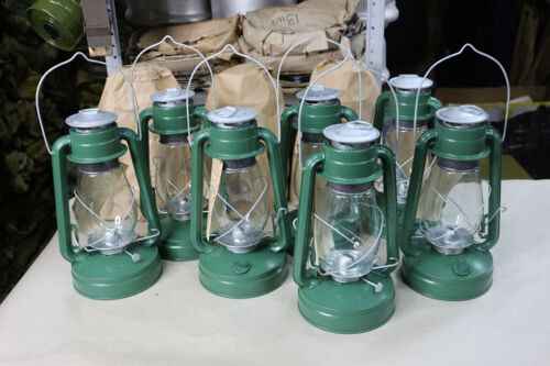 Kerosene lamp USSR Vintage 1976 Soviet flashlight wind-resistant lantern