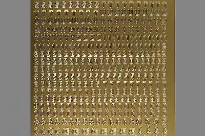 4mm Starform Nr. 1000 (Buchstaben Aufkleber)