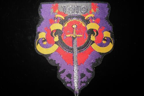 Toto Rock Music Patch In Mint Condition!