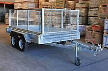 "10x6 Fully Galvanised Tandem Box Trailer "" Christmas special "" Underwood Logan Area Preview"