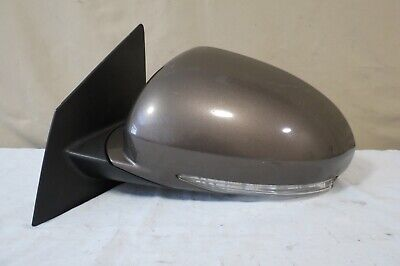 Reflector Brown Housing - ✅ 08-12 Buick Enclave PWR HEAT AUTODIM P. FOLD Mirror Left DRIVER Turn 2PLUG OEM