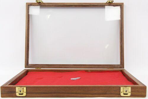"Wood Knife Gun Presentation Storage Case 18"" x 12"" x 2"""
