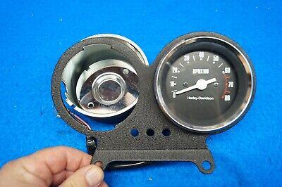 Genuine Harley FXR FXRS Speedometer Tachometer Speedo Tach & Mount 1982-1994