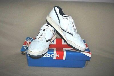ec746200859 RARE Vintage REEBOK PROAXAS Low Cut Leather Tennis Shoes Men s sz 11.5  UNWORN