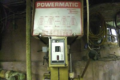Pre-owned Powermatic Drill Press Model 1150a Sn 8215s037