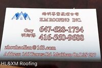 Low price!! Best service! Free estimate!!HL&XM Roofing .