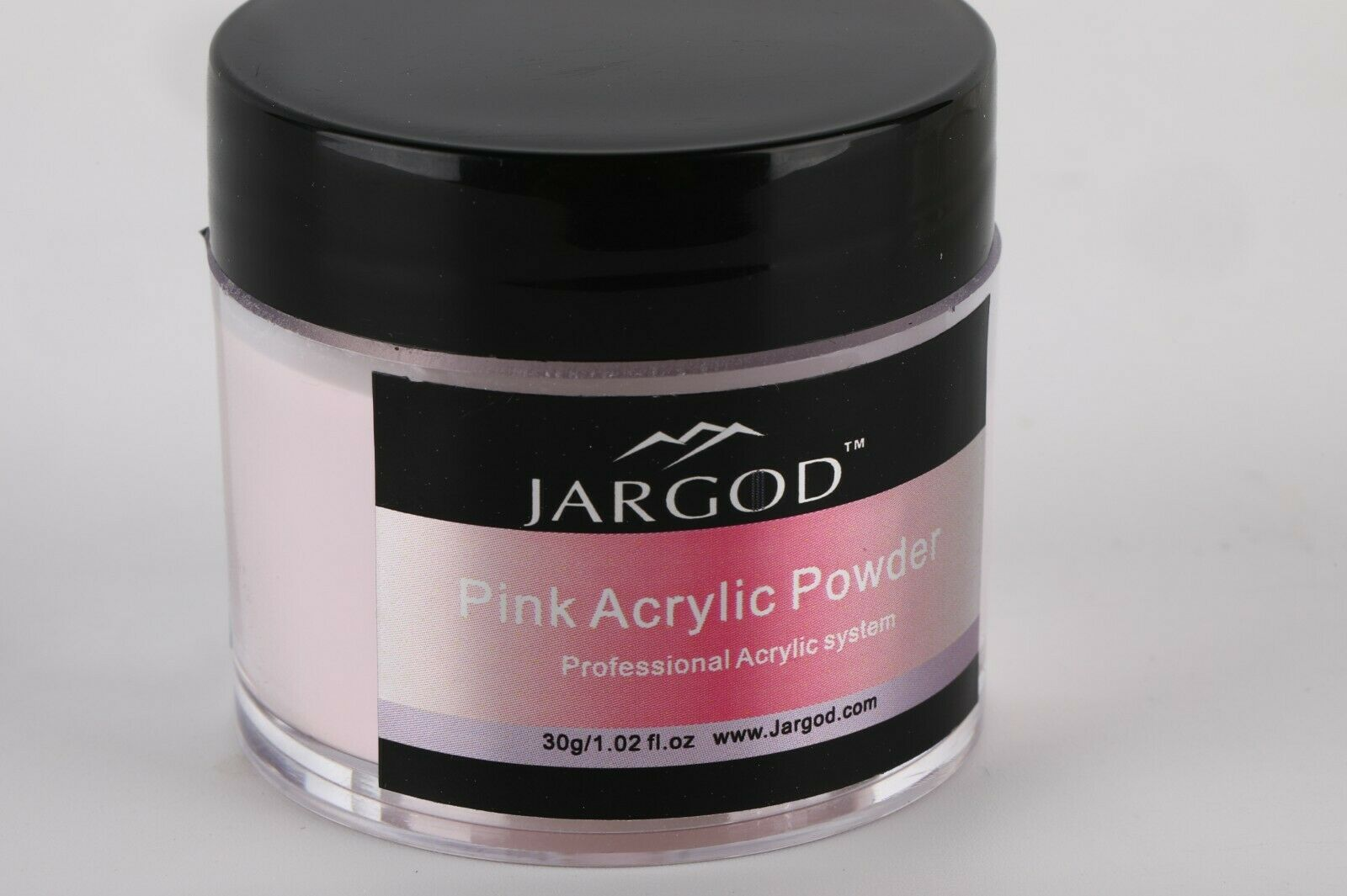 Jargod ACRYLIC POWDER Pink White Clear Acrylic Powder Choose