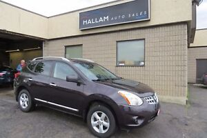 2013 Nissan Rogue S AWD, Sunroof, Bluetooth
