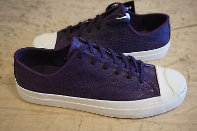 Converse Jack Purcell Pro New size 7.5 [Pop Trading Co.] purple/black