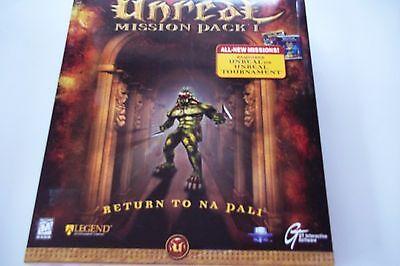 Unreal Tournament Mission Pack I  Return To Na Pali For Pc  Big Box  1999