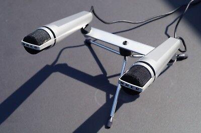 UHER M634 Dynamische Stereo-Mikrofon-Kombination, sehr guter gebrauchter Zustand