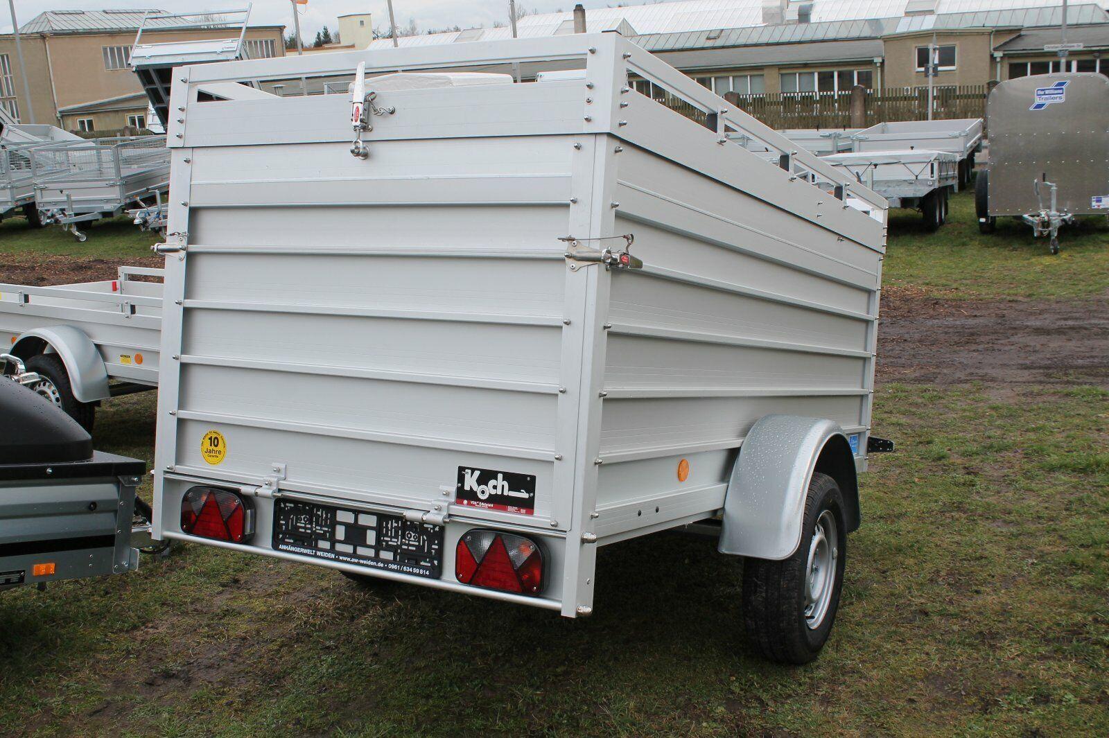 Koch Typ U4 Tieflader 250 x 125 x 44 cm mit Aluminium ...