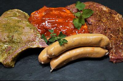 Grillpaket Russland 4,0kg (Steaks und Grillwürste)