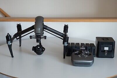 DJI Inspire 2 with X5s, Case and 3 sets of batteries
