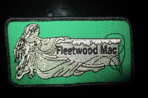 Vintage Fleetwood Mac Rock Music Patch In Mint Condition!