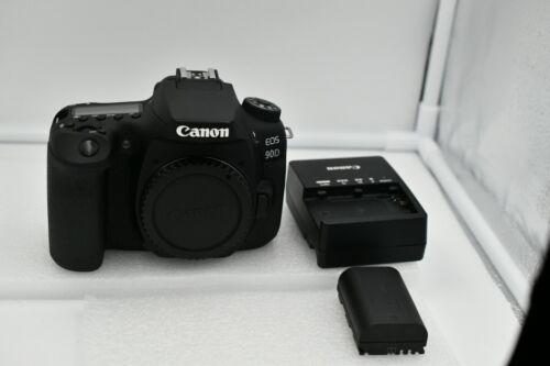 Canon EOS 90D 4K UHD DSLR Camera - Low Shutter Count