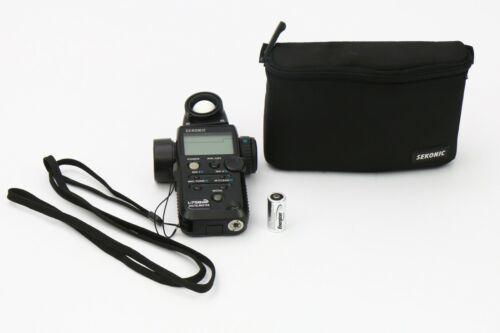 Sekonic Flash Master L-758DR Light Meter - Lightly used - BEAUTIFUL