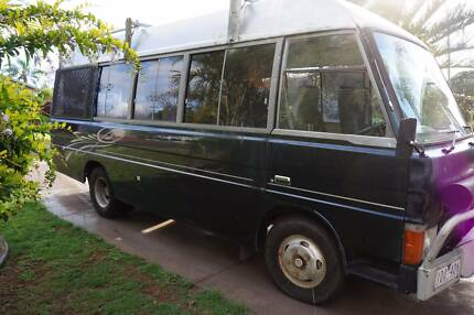 Mazda T3500 4 seater motorhome project
