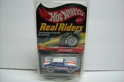 Hot Wheels HWC Real Riders Series '69 Chevy Camaro, #1669/10000 MIP/READ! 2007!