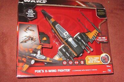 U Command Star Wars Remote Control RC Poe's X Wing Fighter BNIB