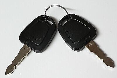 New Genuine Doosan 1 Key Set 110702-00023 Oem Service Parts 2 Keys