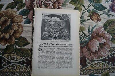 Land-malerei (1917 Fachbericht vh / Finnland Malerei)