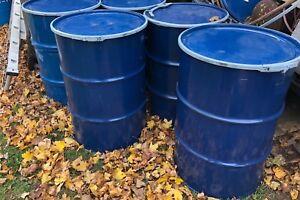 Food grade barrels 55 gallon