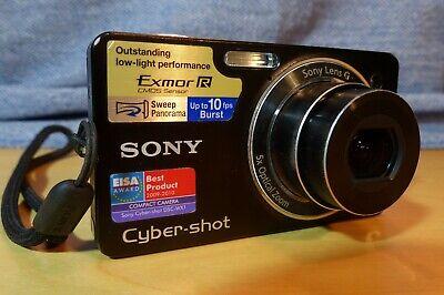 Digitalkamera - Sony - Cyber-shot DSC-WX1 - 10.2MP - schwarz online kaufen