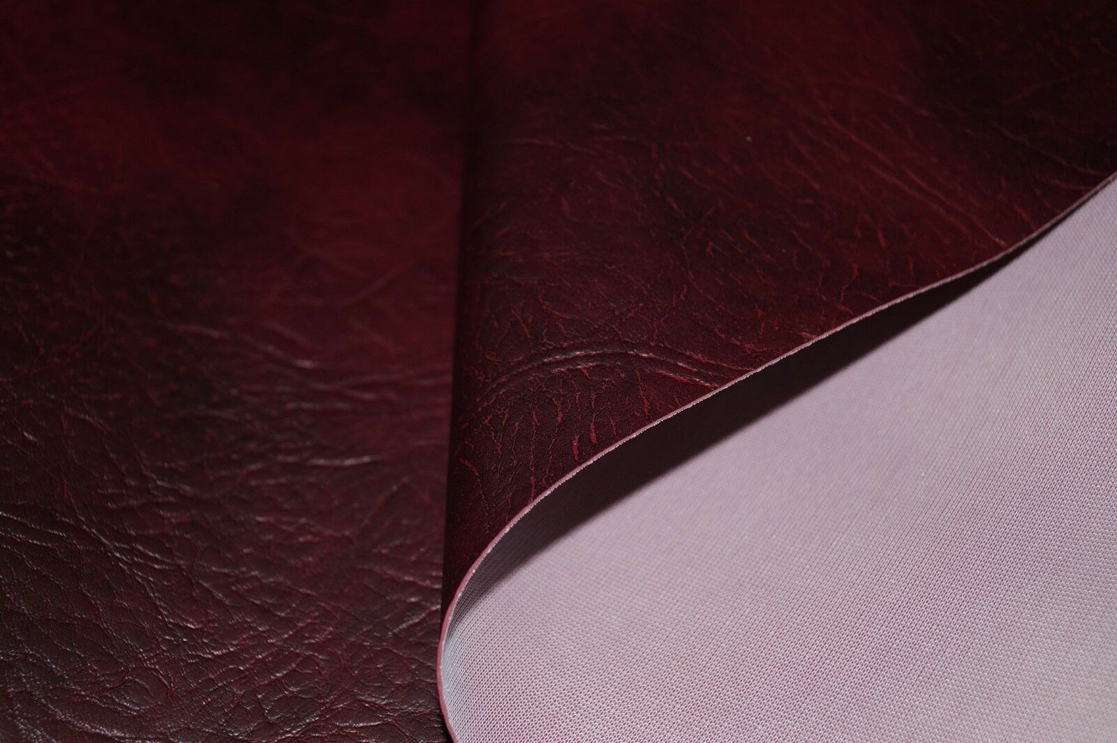 Blue Expandable Premium Faux Leather Upholstery Material Leatherette Fabric