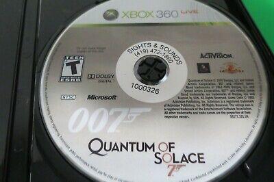 2008 James Bond 007  Quantum Of Solace  Microsoft Xbox 360  Video Game