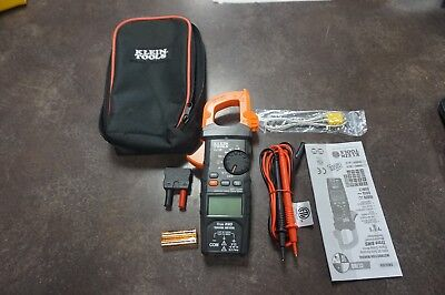 Klein Cl700 600 Amp True Rms Digital Clamp Meter With Accessories Original Case