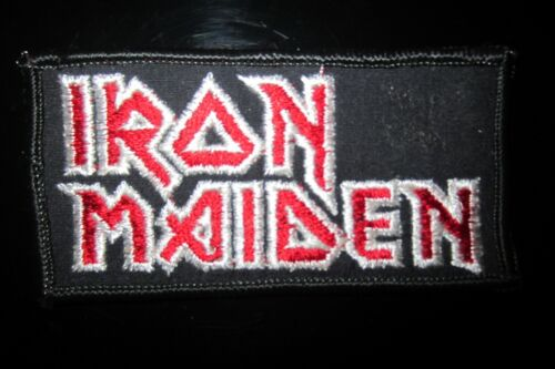 The Iconic Vintage Iron Maiden Rock Music Patch In Good Condition!
