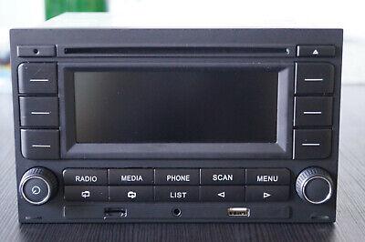 Original VW Autoradio RCN 210 mit Bluetooth, Doppel-DIN für Polo 9N, Golf 4, B5