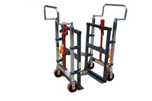 Pake Handling Tools - Hydraulic Furniture Mover Set, 3960 lbs Capacity(Set of 2)