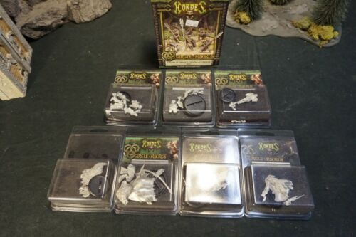 Hordes Circle Orboros New in Box/Blister Lot