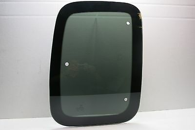 Rear Side Glass - Fits 97-04 Ford F150 Super Cab Passenger Side Rear Quarter Glass 3 Holes Movable