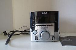 RCA Clock Radio with AM, FM Stereo, CD Player & Gradual Wake Alarm